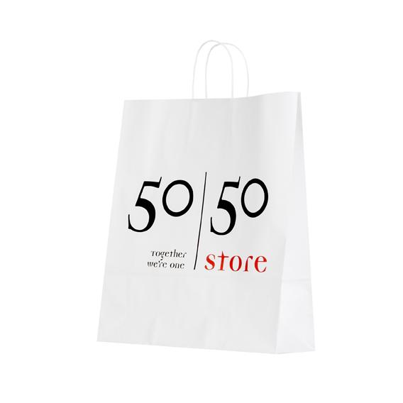 papieren tas 50 50