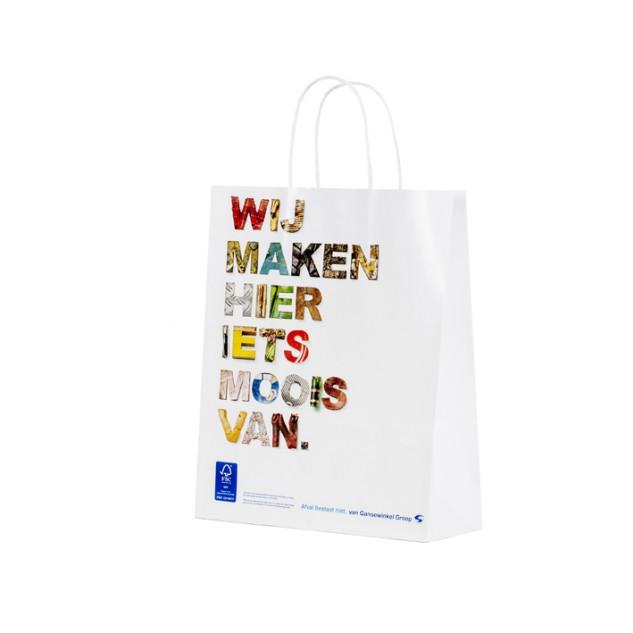 papieren tas Van Gansewinkel